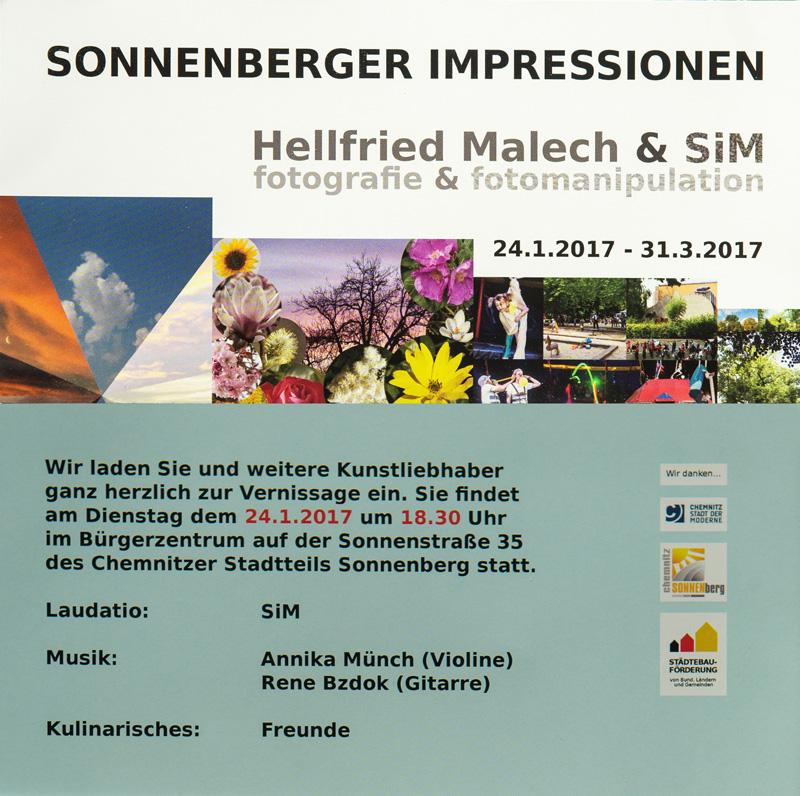 Vernissage: Sonnenberger Impressionen @ Bürgerzentrum | Chemnitz | Sachsen | Deutschland