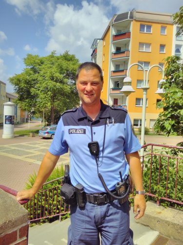 Bürgerpolizist Frank Strachotta
