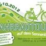 Radtour auf dem Sonnenberg, 2012, Flyer