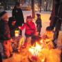 Laternen und Kerzen