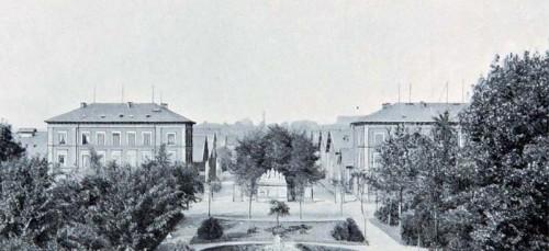 Schlacht- und Viehhof um 1900