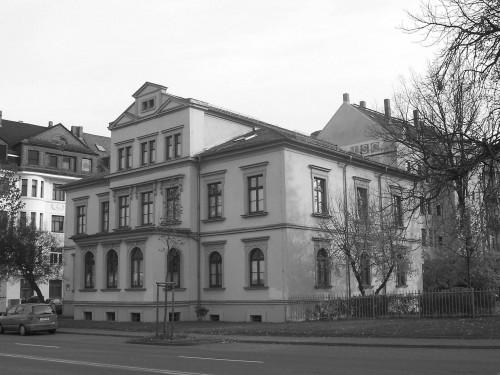 Vorderansicht Villa Kertzscher