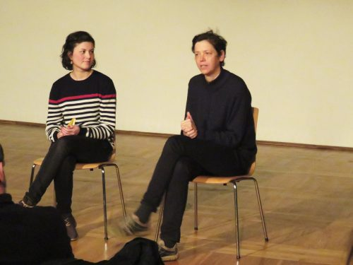 Jeanette Hilger, Beate Kunath (rechts)
