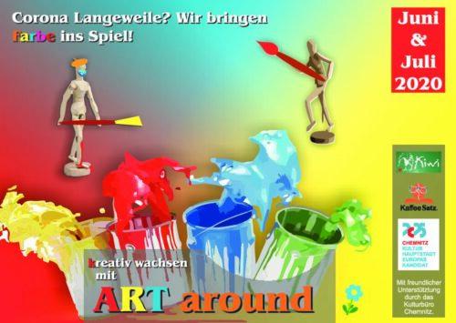 Art around Kreativkurse @ Kiwi | Chemnitz | Sachsen | Deutschland