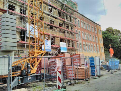 Häuser Baustelle