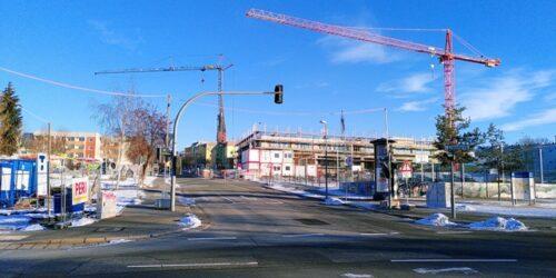 Martinstraße 2021 im Januar