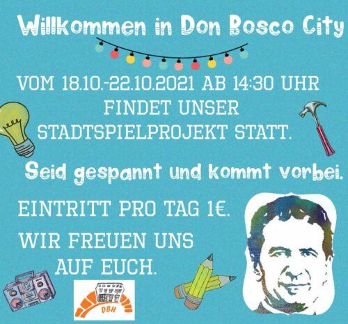 Stadtspielprojekt @ Kinderclub Don Bosco Haus